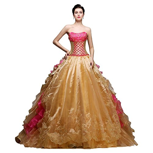 Pageant Prom Gala Gown Dress - 9
