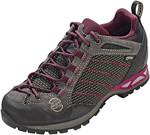 UK GTX Garnet Makra Hanwag Women's Asphalt Dark Shoes Lady 5 6 Dark Climbing 064356 Garnet Multicolour Asphalt Low xgUqUz7