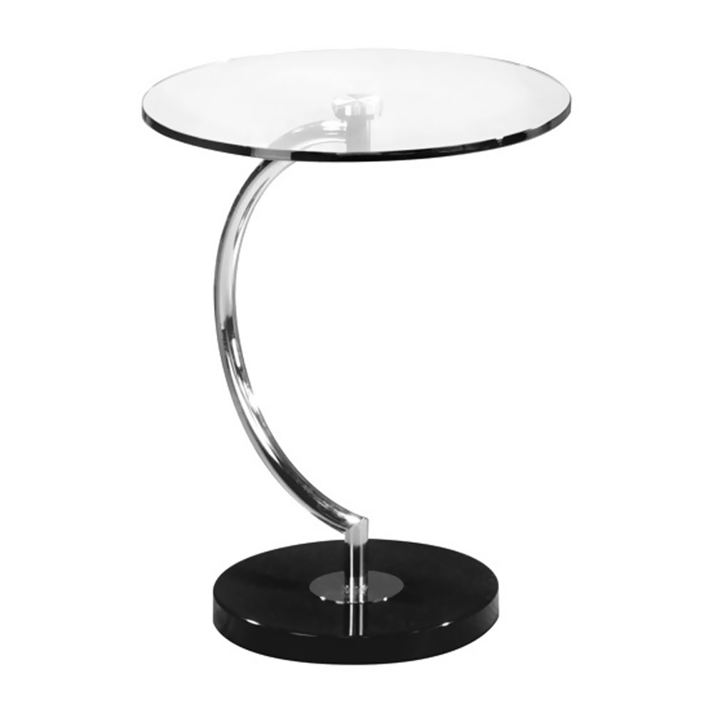 Amazon.com: WOYBR TB C Glass, Chrome, Marble C End Table: Kitchen U0026 Dining