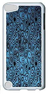 Apple iPod 5 Case, Apple iPod 5 Cases -Circles Within Circles PC case Cover for iPod Touch 5 and Apple iPod 5 White