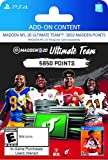 Video Games : Madden NFL 20: MUT 5850 Madden Points Pack - [PS4 Digital Code]