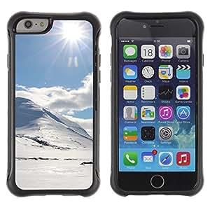 LASTONE PHONE CASE / Suave Silicona Caso Carcasa de Caucho Funda para Apple Iphone 6 PLUS 5.5 / holmy sneg doroga solnce