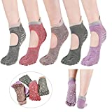 Yoga Socks Non Slip Skid with Grips For Women