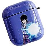 Uchiha Sasuke Raleighsee Anime Naruto Cartoon AirPods1//2 Generation IMD Protective Case Anti-Fall Portable Bluetooth Headphone Box Protective Cover