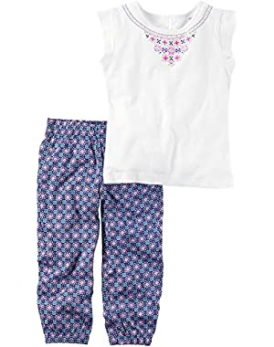 Baby Girls' 2 Pc Playwear Sets 239g296