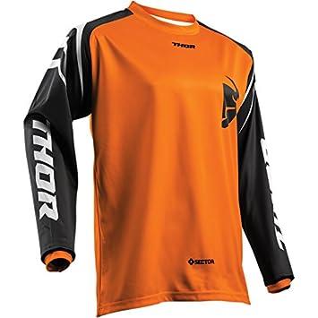 M Thor Sector Zones Motocross Jersey Shirt Trikot Offroad Enduro Cross Orange S M L XL 2XL 3XL