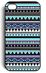 MI.YO Retro Aztec Tribal Style Snap On Hard Back Case Cover Plastic Case Cover for iPhone 5 5S