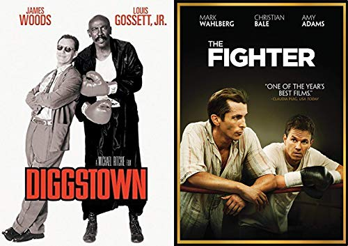 On the Ropes + Below the Belt Boxing Films: The Fighter & Diggstown 2-DVD Bundle Movie Set