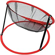 Golf Chipping Net,3 in 1 Nylon Indoor and Outdoor Golf Chipping Practice Backyard Training Foldable Net