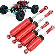 Amortecedores dianteiros e traseiros de controle remoto, amortecedor dianteiro de amortecedores, brilhante, ac