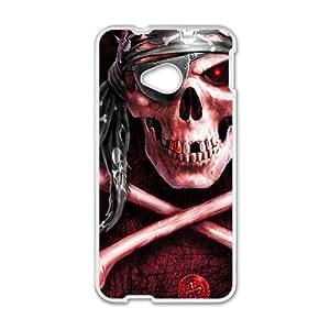 Scarlet Skull Hot Seller High Quality Case Cove For HTC M7