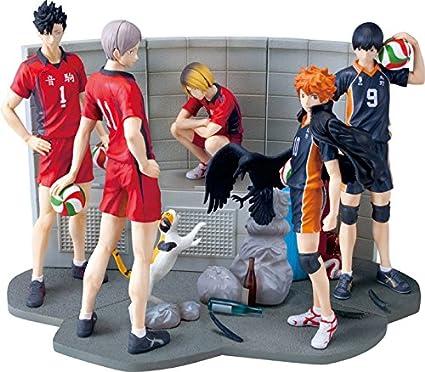 PUTITTO Figure Set of 7 Complete Cup Fuchiko Kenma Kuroo Kageyama Haikyuu!