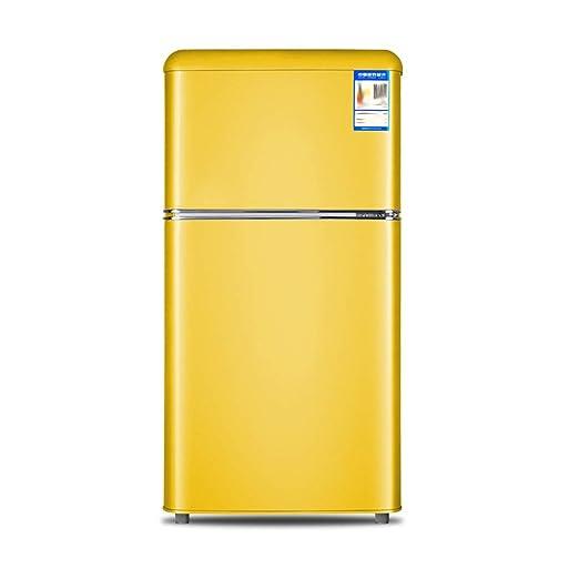 Refrigerador Retro De Doble Puerta con Capacidad De 118 litros ...