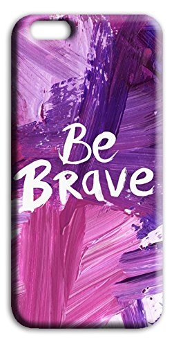 Mixroom - Cover Custodia Case In TPU Silicone Morbida Per Apple Iphone SE Q252 Essere coraggioso Be brave