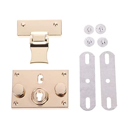 High Quality 1 Pc Bag Buckles Women Handbag Diy Craft Replacement Making Metal Push Lock Briefcase Lock Hardware Accessories New Luggage & Bags