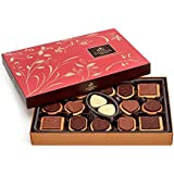 Godiva Chocolatier Assorted Chocolate Biscuit Gift Box, Great for Holiday Gifting, 32 Count