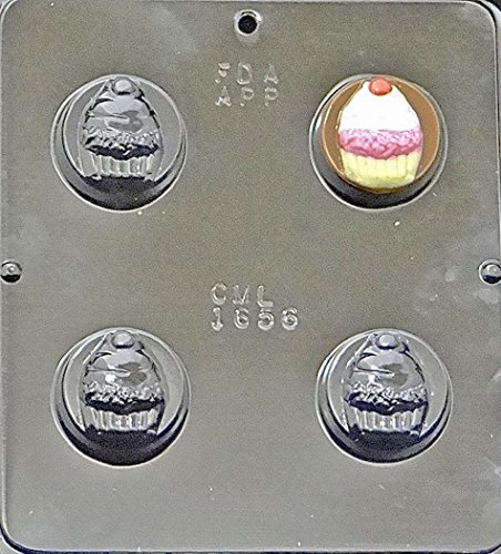 (Cupcake Oreo Cookie Sandwich Chocolate Candy Mold 1656)
