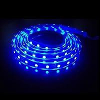 Şerit Led Mavi İç Mekan Tek Çip 5 Metre