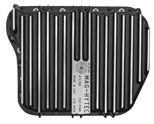 Mag-Hytec Extra Deep Transmission Pan 94-07 Dodge Ram 2500 / 3500 Cummins 5.9L (Stone Drain Replacement Cap)