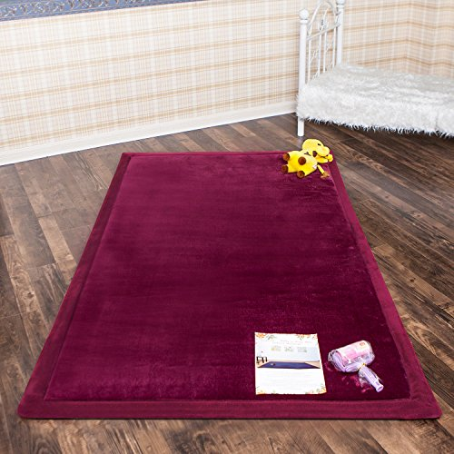 Infant Shining Baby Play Mat, 4'x6'' ,Thick Rugs, Soft an...