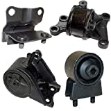 K86-04 : Fits 1998-2000 MAZDA 626 2.0L ENGINE & TRANS MOUNT KIT for AUTO TRANS 4 PCS 1998 1999 2000 A6480 A6405 A6463 A6440