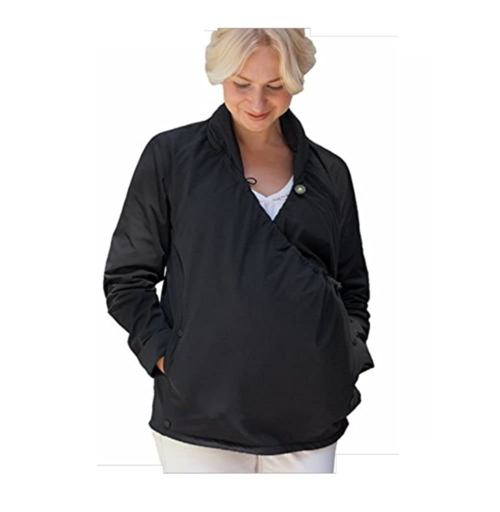 Joey Jacket 3-in-1 Adjustable Maternity Babywearing + Postpartum Coat (Medium) JJ1BM
