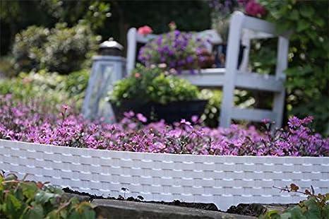 GARDENIX® 3, 2 m Borde delimitador para césped y jardín cercado ...
