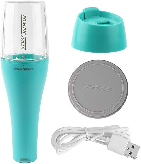 Licuadora extractora de exprimidor recargable USB, 350 ml Práctico ...