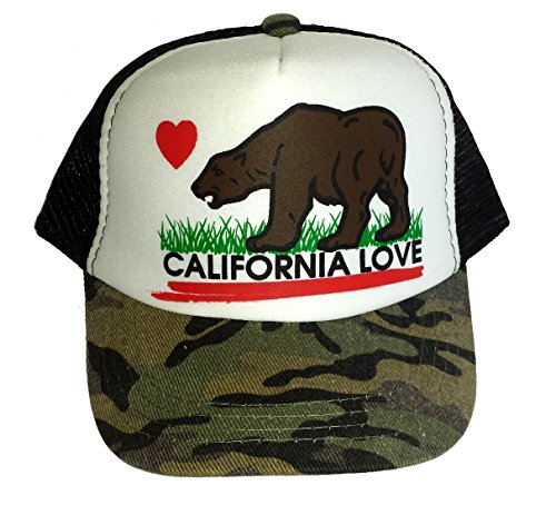Youth Toddler California Trucker Snapback product image