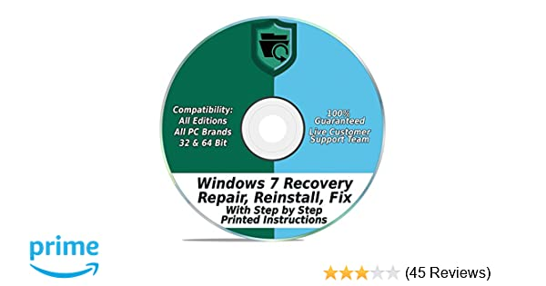 create recovery disk from another computer