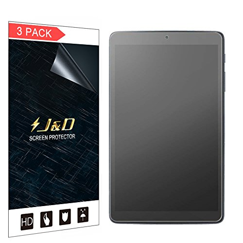 J&D Compatible for 3-Pack Alcatel A30 Tablet 8 inch Screen Protector, [Anti-Glare] [Anti-Fingerprint] Matte Film Shield Screen Protector for Alcatel A30 Tablet 8 inch Matte Screen Protector