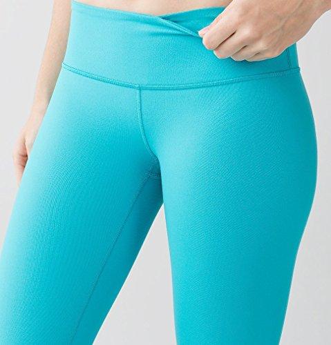 Amazon.com : Lululemon Wunder Under Crop III Luon Yoga Pants ...