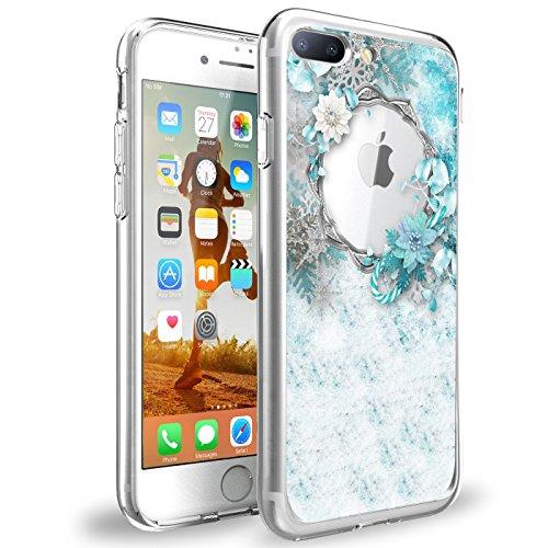 Price comparison product image Beryerbi Apple iPhone 8 Plus Case Ultra Slim Flexible TPU Clear Anti-Shock Protective Cover for i Phone 8 Plus (8,  iPhone 8 Plus)