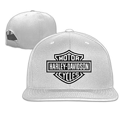 NNTBJ Adjustable Snapback Baseball Hat? Harley Logo
