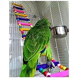 Lovely Toys for Small Animals Parrot Toys Bridge Ladder 80cm
