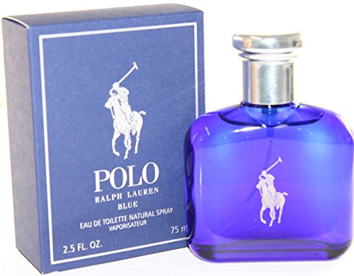 Ralph Lauren Polo Blue homme / men, Eau de Toilette, Vaporisateur / Spray 75 ml, 1er Pack (1 x 75 ml)