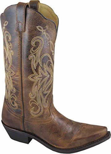 Smoky Distressed Boot Snip Womens MADISON Mountain Toe Brown OSqYrOw