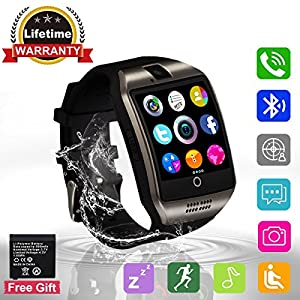 Bluetooth Smart Watch with Camera ?Waterproof Smart Watch?Touch Screen Smart Watch Support Iphone and Android Smartphones Samsung Iphone 7 Plus 6S for Kids by Adhope