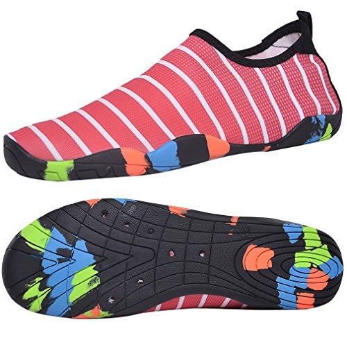 DBLAKI Swim Shoes Mens Womens Quick Dry Water Shoes Aqua Socks Sneakers for Yoga Fitness Beach Boating Driving