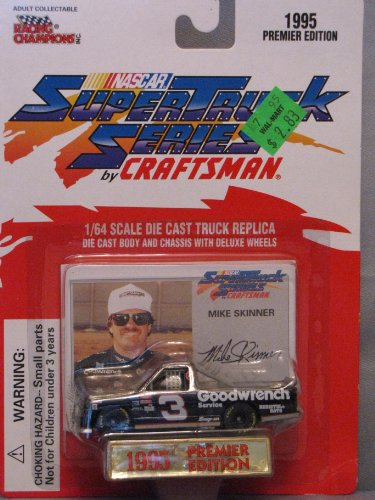Mike Skinner Racing - Mike Skinner #3 Goodwrench Diecast Truck and Collectible Racing Card