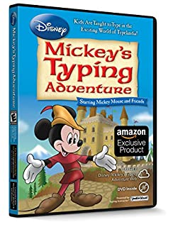 INDIVIDUAL SOFTWARE Disney: Mickey's Typing Adventure (B00AJH52OS) | Amazon Products