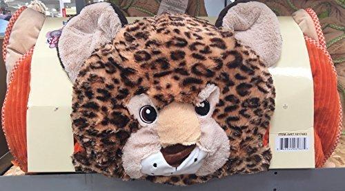 HugFun Kids Sleeping Bag with Character Head (Leopard) by...