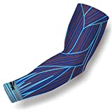 COOLOMG (1 Piece) Compression Arm Sleeve Youth Adult Anti-slip UV Protection Baseball 4 Color 6 Size