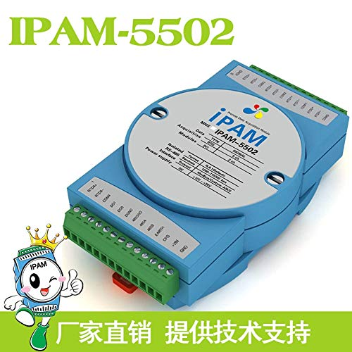 Lysee IPAM-5502 multi-channel PT100 platinum thermal resistor RTD measurement module temperature acquisition RS485