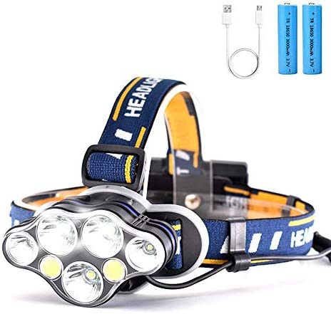Headlamp Brightest Headlight Rechargeable Headlamps product image