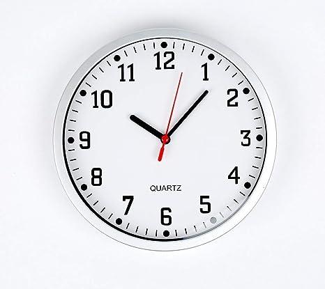 Stella Reloj de Pared de Cuarzo – 23 cm de diámetro, Cuenta con una Cara