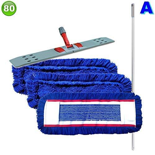 Maxxi4you Set mit mit mit 3 Wischmopp Wischmop Acryl Industriequalität Waschbar (100 cm) B01E8ZFORQ Bodenwischer & Mopps 48d8c2