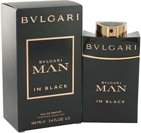 B v l g a r i Man In Black Cologne Perfume Eau De Parfum Spray 3.4 oz.
