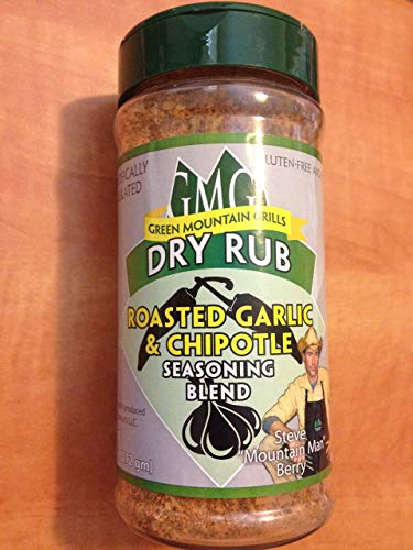 GMG Green Mountain Grills Dry Rub Roasted Garlic & Chipotle Seasoning Blend ()
