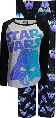 Classic Star Wars Darth Vader Soft Fleece Pajama for women (Small)